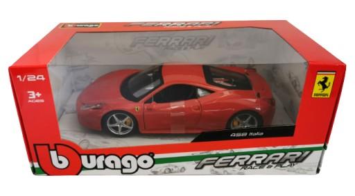 Bburago 1 24 Ferrari 458 Italia Red Nowy Mega 7525215018 Allegro Pl
