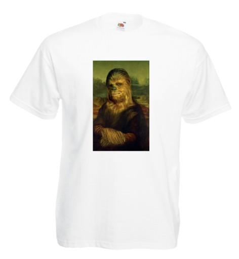 Koszulka męska Mona Lisa Chewbacca L 9983747481 Odzież Męska T-shirty XP MJWKXP-4