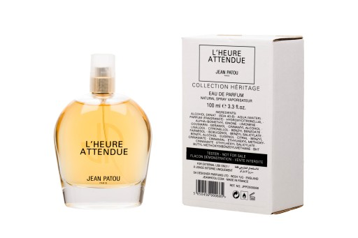 jean patou collection heritage - l'heure attendue