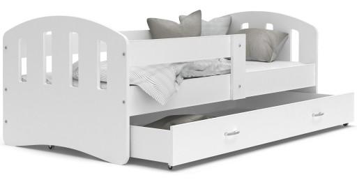 Łóżko HAPPY 160x80 + szuflada + materac