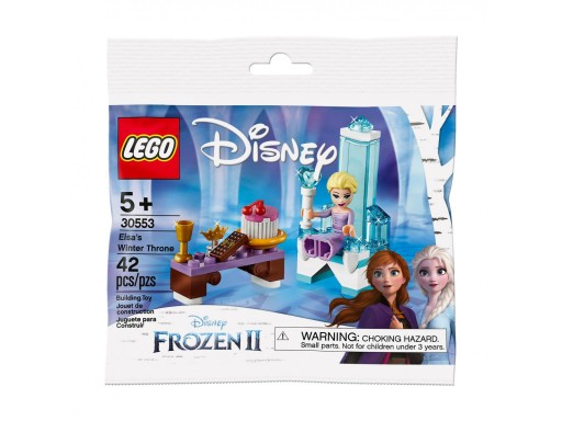 LEGO 30553 DISNEY PRINCESS ZIMOWY TRON ELSY