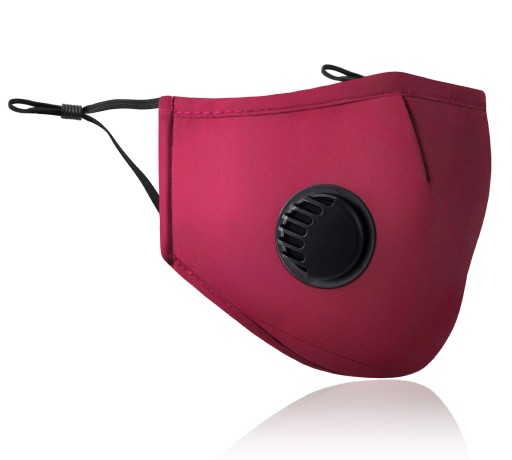 KOMPLET Maska+ 3x FILTR HEPA PM2.5 WĘGIEL FFP2 N95