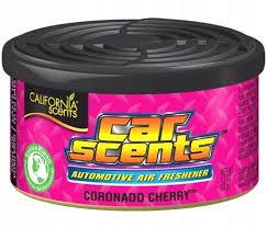 CALIFORNIA CAR SCENTS zapach CORONADO CHERRY