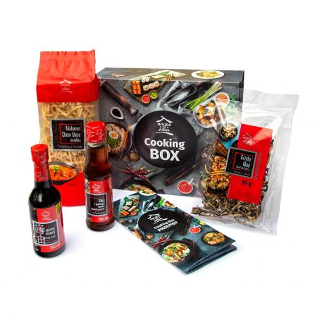 Cooking Box Makaron Chow Mein Grzyby Mun 2 Osoby 9370963687 Allegro Pl