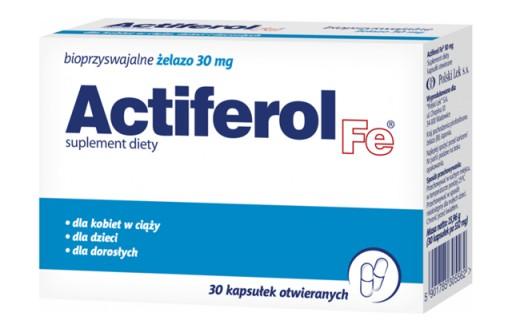 ActiFerol Fe 30mg, 30kaps.