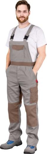 Spodnie robocze ochronne OGRODNICZKI Bawełniane 9335561671 Odzież Męska Spodnie BP HLWZBP-8