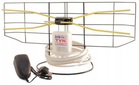 NAJMOCNIEJSZA ANTENA POKOJOWA DVB-T DAVBOL ++35dB