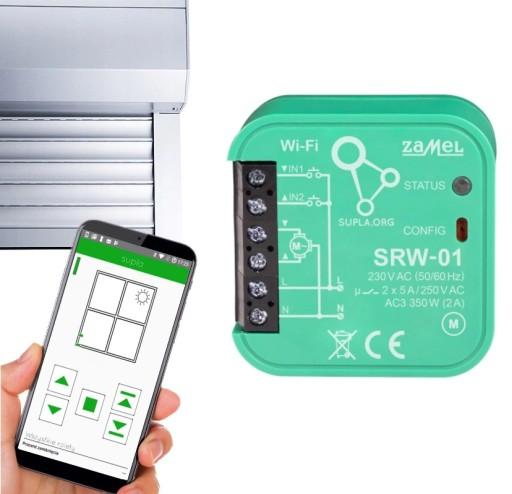 Sterownik rolet Wi-Fi SUPLA SRW-01 dopuszkowy