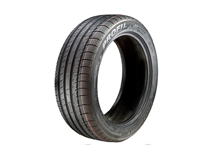 195/55 R15 SUMMER TIRES TREAD PROFILE RABAT