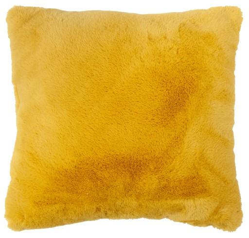 Poduszka dekoracyjna rabbit miękka 40x40 cm żółta