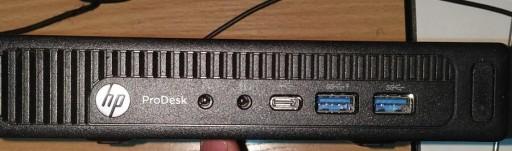 HP 600 G2 Tiny 3.2GHZ/8GB/256GB nvme HDMI/BT/WIFI