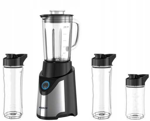 BLENDER KIELICHOWY DO KOKTAJLI 4W1 KERCH FIT 900W доставка из Польши Allegro на русском