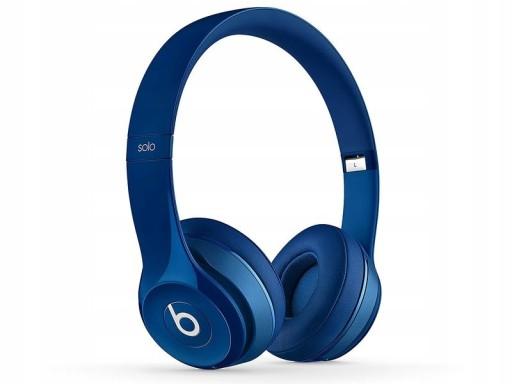Słuchawki Beats by Dr. Dre Solo2 niebieskie