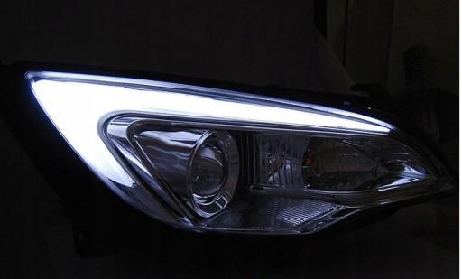 Lampy Opel Astra J 10 15r Led Tube Light Bar Chrom Knurów Allegro Pl