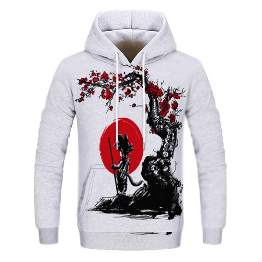 frowym z kreskÓwek anime dragon ball Sweter męski 9813451734 Odzież Męska Swetry VQ CSJHVQ-1