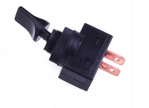 Przełącznik samochodowy ON-OFF plastik 20A/12VDC