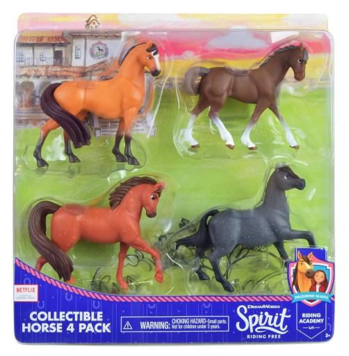 Spirit Kon Mustang Duch Wolnosci 4 Figurki Konie 9658693150 Allegro Pl