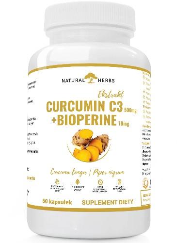 Curcumina C3 Complex Piperyna Bioperine 60 CAPS
