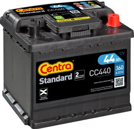 CENTRAL BATTERY STANDARD P+ 44AH/360