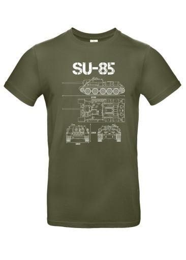 Koszulka Wz. Tech. SU-85, roz. XL 10430045685 Odzież Męska T-shirty OZ OSUZOZ-1