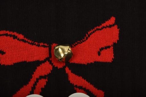 H&M SWETER ŚWIĄTECZNY Z DZWONECZKIEM XS SUPER 10780346939 Odzież Męska Swetry WT RJEHWT-4