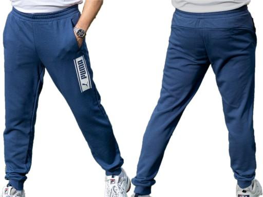 Spodnie męskie sportowe Puma Pants [583155 43] 9854622675 Odzież Męska Spodnie TB NAOATB-4