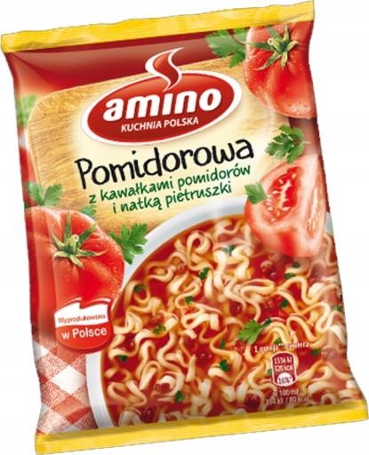 Zupka Pomidorowa W Proszku Amino Instant 8804997012 Allegro Pl