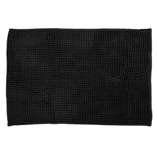 Miękki dywanik łazienkowy 40x60 microfibra czarny