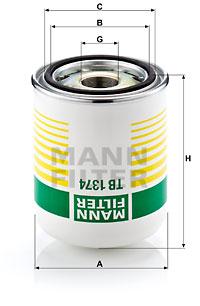 Mann Filter TB 1374 x