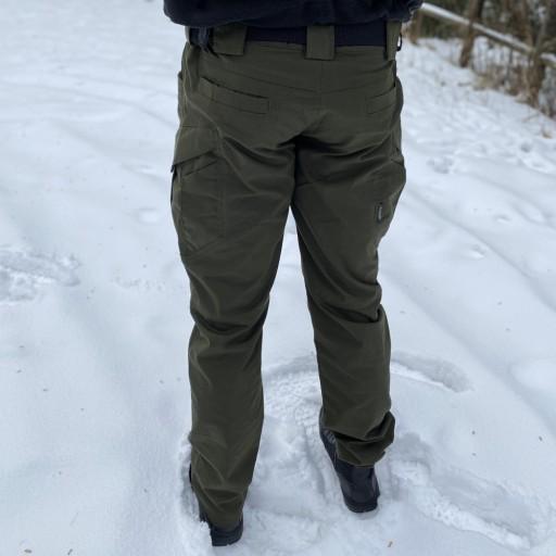 SPODNIE WOJSKOWE OLIVE TAKTYCZNE PRO + KARTA XXL 10224860304 Odzież Męska Spodnie HL MXESHL-5