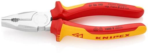 Knipex 01 06 190 Szczypce uniwersalne VDE