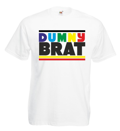 Koszulka męska DYMNY BRAT dla brata roz M 10595423658 Odzież Męska T-shirty KO DUHDKO-1