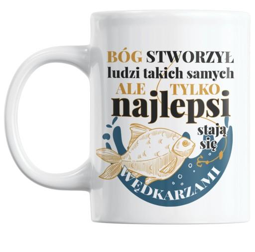Kubek Dla Wedkarza Rybaka Z Karpiem Karp Prezent 9674586943 Allegro Pl
