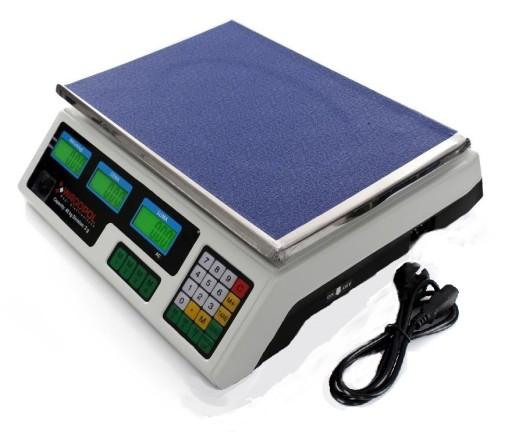 Waga Sklepowa 30kg 2g Pol Gratis Elektroniczna 5099966398 Allegro Pl