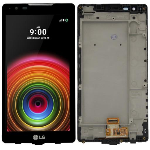 LG X POWER K220 WYŚWIETLACZ LCD EKRAN RAMKA CZARNY