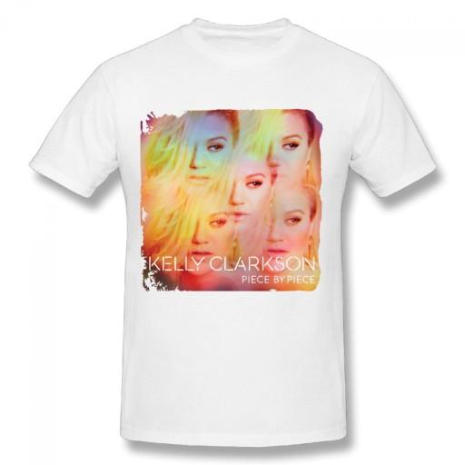 Kelly Clarkson Piece meski podkoszulek t-shirt 10679179406 Odzież Męska T-shirty OI PSVOOI-2
