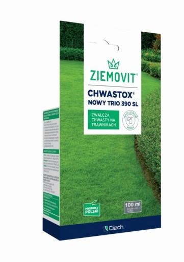 Chwastox Trio 390 mniszek,chwasty w trawniku 100ml