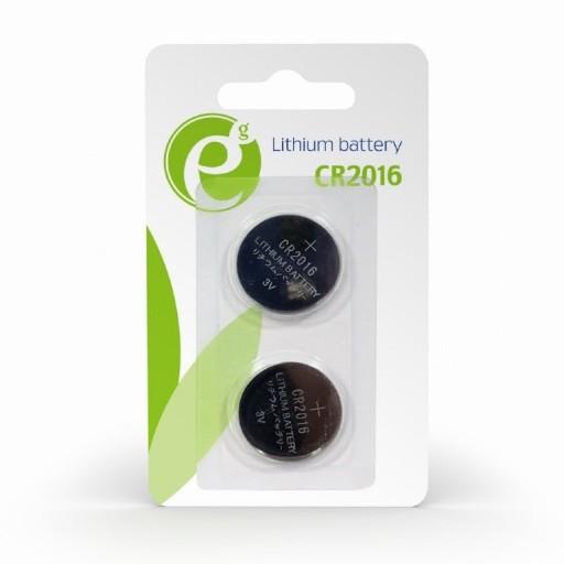 GEMBIRD Bateria CR2016 2 sztuki