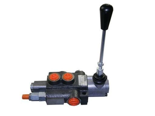 Rozdzielacz hydrauliczny jednosekcyjny z zatrzaski