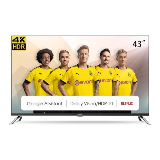 Telewizor 4K 43 CHiQ U43H7A Smart TV AndroidTV HDR