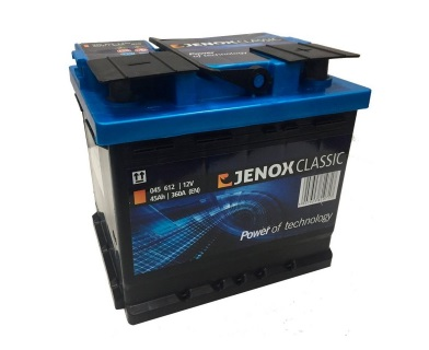 ACCUMULATOR JENOX CLASSIC 45AH 360A CONNECTED LT