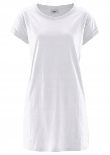 T-shirt damski biały bonprix 32/34