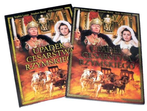 DVD - UPADEK CESARSTWA RZYMSKIEGO (1964) - lektor