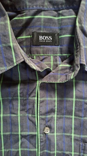 HUGO BOSS - świetna koszula roz. 42 9602390163 Odzież Męska Koszule JW WXYXJW-3