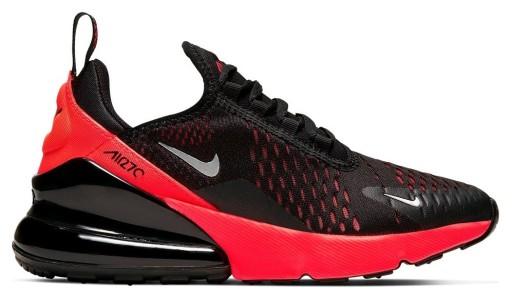 Buty Nike Air Max 270 (GS) 943345 013 black   Obuwie