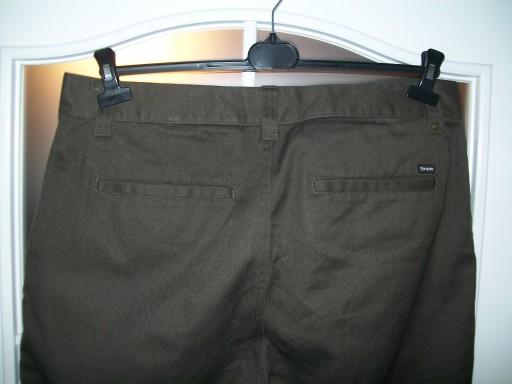 BRIXTON 36/33 CHINOS FLEET PANT BRĄZOWE SPODNIE 10192394010 Odzież Męska Spodnie IC NZHRIC-2