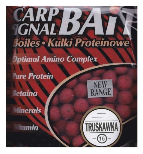 PROFESS - Kulki Proteinowe - TRUSKAWKA - 16mm