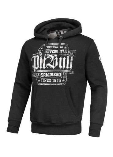 Pitbull Bluza z kapt San Diego IV (M) Grafitowa 9846265938 Bluzy Męskie Bluzy WK DZDIWK-9