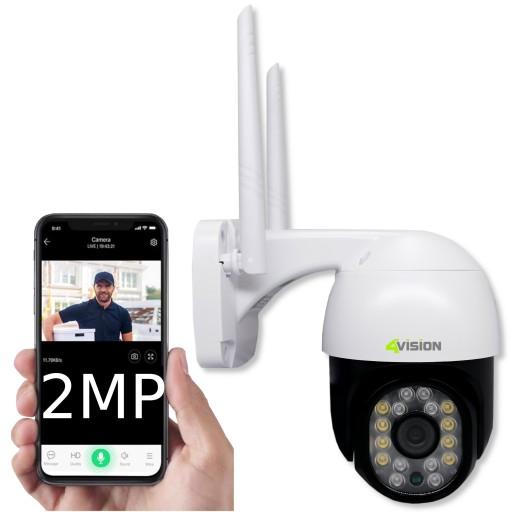 Zewnętrzna Obrotowa Kamera IP WIFI FULL HD 2 Mpix