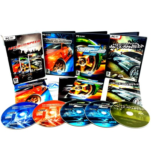 Nfs Need For Speed Underground 1 2 Most Wanted Pc Stan Uzywany 7751376517 Allegro Pl